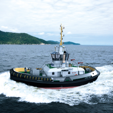 New ship handling tug & CNG powered tug